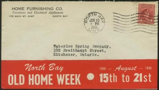 1948 Home Furnishing Co   178 Main St  East. Postal